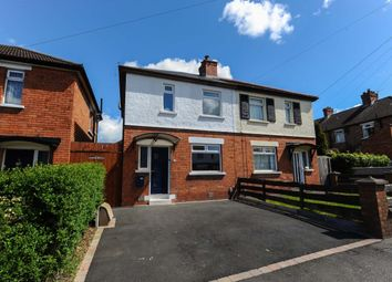 Thumbnail 3 bedroom semi-detached house for sale in Mayfair Avenue, Cregagh, Belfast