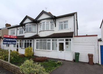 Thumbnail 3 bed semi-detached house for sale in Harrow Road, Carshalton