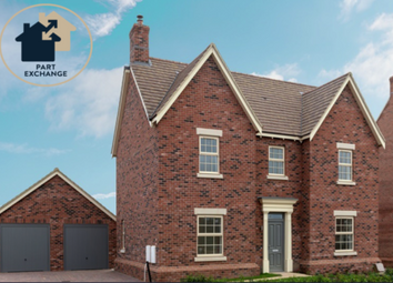 Thumbnail 4 bedroom detached house for sale in The Watermead, Measham Road, Appleby Magna