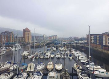 Thumbnail 1 bed flat for sale in Abernethy Quay, Marina, Swansea