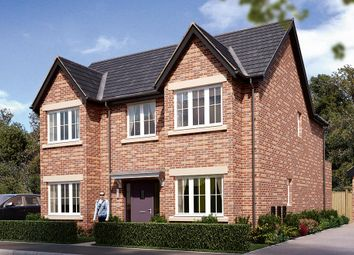 "Thumbnail 4 bed detached house for sale in ""The Tetbury"" at Boughton Road, Moulton, Northampton"