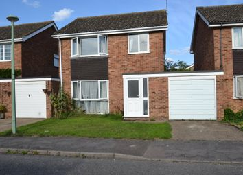 Thumbnail 3 bed link-detached house for sale in Hickling Drive, Bury St Edmunds, Suffolk