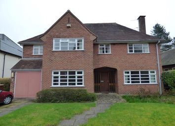 Thumbnail 4 bed detached house for sale in Pikemere Road, Alsager, Cheshire