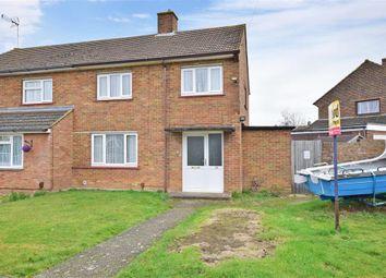 Thumbnail 3 bed semi-detached house for sale in Kent Avenue, Sittingbourne, Kent