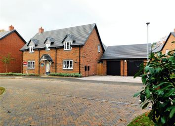 Thumbnail 5 bed detached house for sale in Manor Grove, Creswell Manor, Stafford