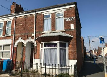 Thumbnail 4 bed terraced house for sale in Manvers Street, Kingston Upon Hull