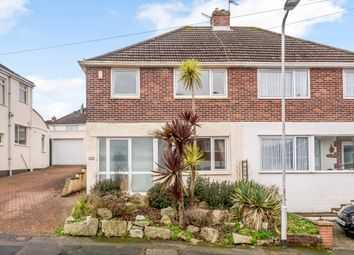 Thumbnail 3 bed semi-detached house for sale in Lynwood Avenue, Plymouth, Plymouth