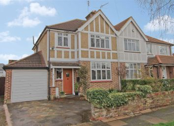 Thumbnail 3 bed semi-detached house for sale in Dorset Way, Hillingdon Village