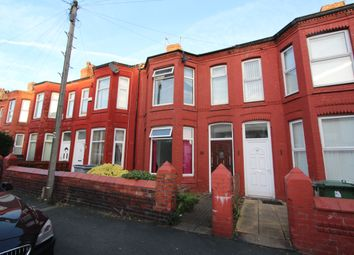 Thumbnail 3 bed terraced house to rent in Wright Street, Wallasey