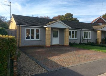 Thumbnail 2 bed semi-detached bungalow to rent in Craig Close, Crowhurst, Battle