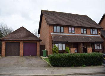 Thumbnail 3 bedroom semi-detached house to rent in Gaddesden Crescent, Wavendon Gate, Milton Keynes, Buckinghamshire