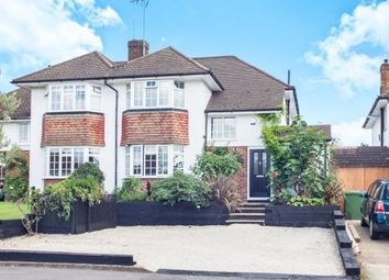 Thumbnail 4 bed semi-detached house for sale in Esher, Surrey