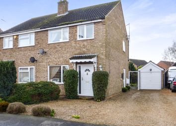 Thumbnail 3 bedroom semi-detached house for sale in John Davis Way, Watlington, King's Lynn