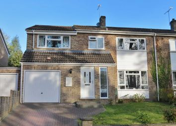 Thumbnail 4 bed semi-detached house for sale in Bourne Vale, Hungerford
