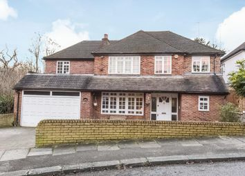 Thumbnail 4 bed detached house for sale in Reddings Close, Mill Hill, London