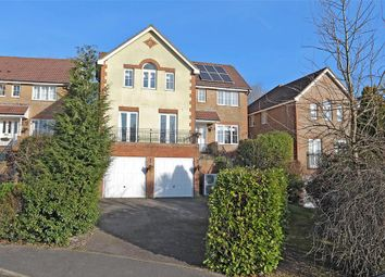 Thumbnail 4 bedroom detached house for sale in Lincoln Way, Crowborough, East Sussex