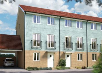 "Thumbnail 4 bedroom town house for sale in ""The Harrogate"" at Valerian Gardens, Soham, Ely"