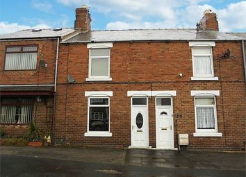 Thumbnail 2 bed terraced house for sale in Front Street, Sunnybrow, Crook, Durham
