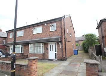 Thumbnail 3 bed semi-detached house to rent in Barton Road, Stretford, Manchester