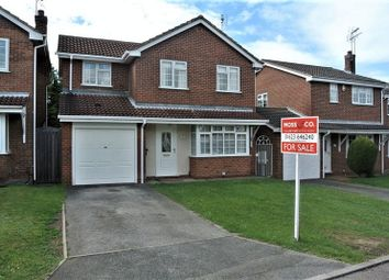 Thumbnail 4 bed detached house for sale in Chaffinch Close, Mansfield