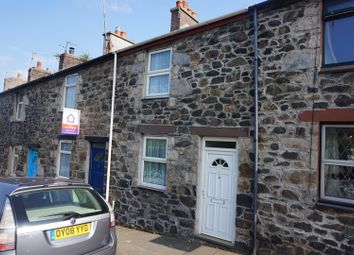 Thumbnail 2 bed terraced house for sale in Penchwintan Terrace, Bangor
