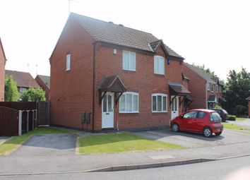 Thumbnail 2 bed semi-detached house to rent in Sixth Avenue, Edwinstowe, Nottinghamshire