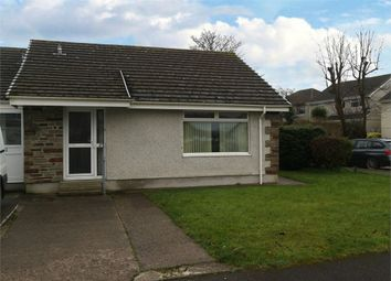Thumbnail 2 bed semi-detached bungalow for sale in Fowey Crescent, Callington, Cornwall