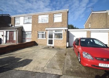 Thumbnail 3 bedroom semi-detached house for sale in Maycroft Close, Ipswich