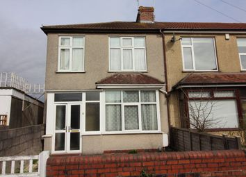 Thumbnail 3 bed end terrace house for sale in Charminster Road, Fishponds, Bristol