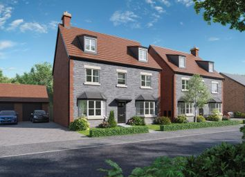 Thumbnail 4 bed detached house for sale in Gloucester Road, Tutshill, Chepstow
