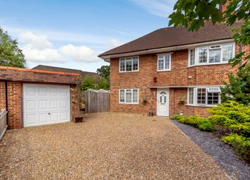 Thumbnail 6 bed semi-detached house for sale in Birchfield Close, Addlestone, Surrey