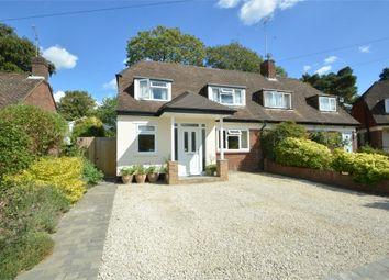 Thumbnail 3 bed semi-detached house for sale in Foxholes, Weybridge, Surrey