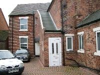 Thumbnail 1 bed flat to rent in Ilkeston Road, Marlpool