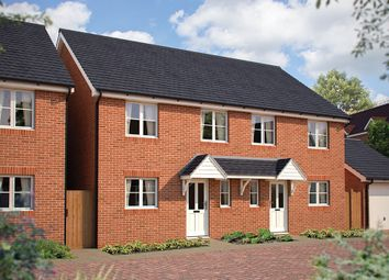 "Thumbnail 3 bed semi-detached house for sale in ""The Southwold"" at Beverley Grove, Bedford"