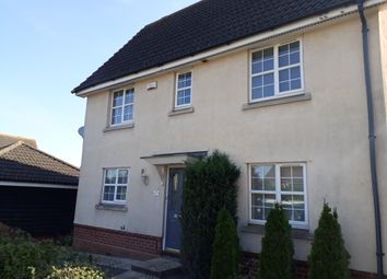 Thumbnail 3 bed semi-detached house to rent in Kestrel Drive, Stowmarket