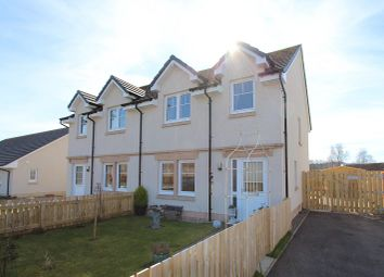 Thumbnail 3 bedroom semi-detached house for sale in 7 Firstfield Avenue, North Kessock, Inverness, Inverness-Shire.
