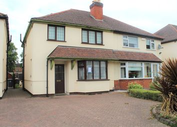 Thumbnail 3 bed semi-detached house for sale in Home Park Road, Attleborough, Nuneaton, Warwickshire