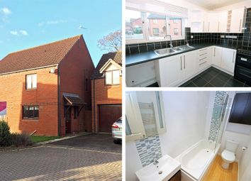Thumbnail 3 bed semi-detached house to rent in Berkeley Close, Hucclecote, Gloucester
