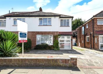 Thumbnail 3 bed semi-detached house for sale in Birkdale Avenue, Pinner, Middlesex