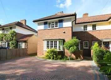 Thumbnail 3 bed semi-detached house for sale in Abbotts Tilt, Hersham, Walton-On-Thames