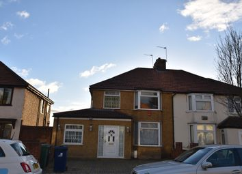 Thumbnail 5 bed semi-detached house to rent in Belvue Road, Northolt
