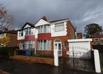 Thumbnail 3 bed semi-detached house for sale in Lindum Avenue, Old Trafford, Manchester, Greater Manchester