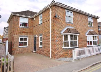 Thumbnail 4 bed semi-detached house for sale in Victoria Road, Warley, Brentwood, Essex