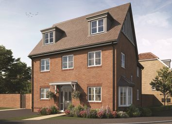 """Thumbnail 4 bedroom detached house for sale in """"The Brockwell"""" at Roman Way, Beckenham"""