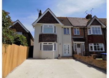 Thumbnail 4 bed end terrace house for sale in Ladydell Road, Worthing