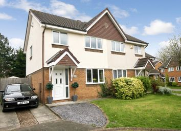 Thumbnail 3 bed property for sale in Melkridge Close, Hoole, Chester