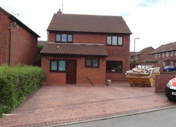 Thumbnail 4 bed detached house to rent in Clovelly Way, Nuneaton
