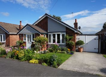 Thumbnail 3 bed detached bungalow for sale in Overdale Road, Romiley