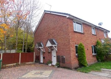 Thumbnail 1 bed semi-detached house for sale in Kinross Close, Fearnhead, Warrington, Cheshire