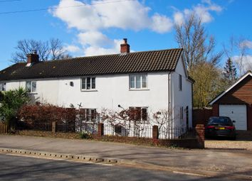 Thumbnail 3 bed semi-detached house for sale in Norwich Common, Wymondham